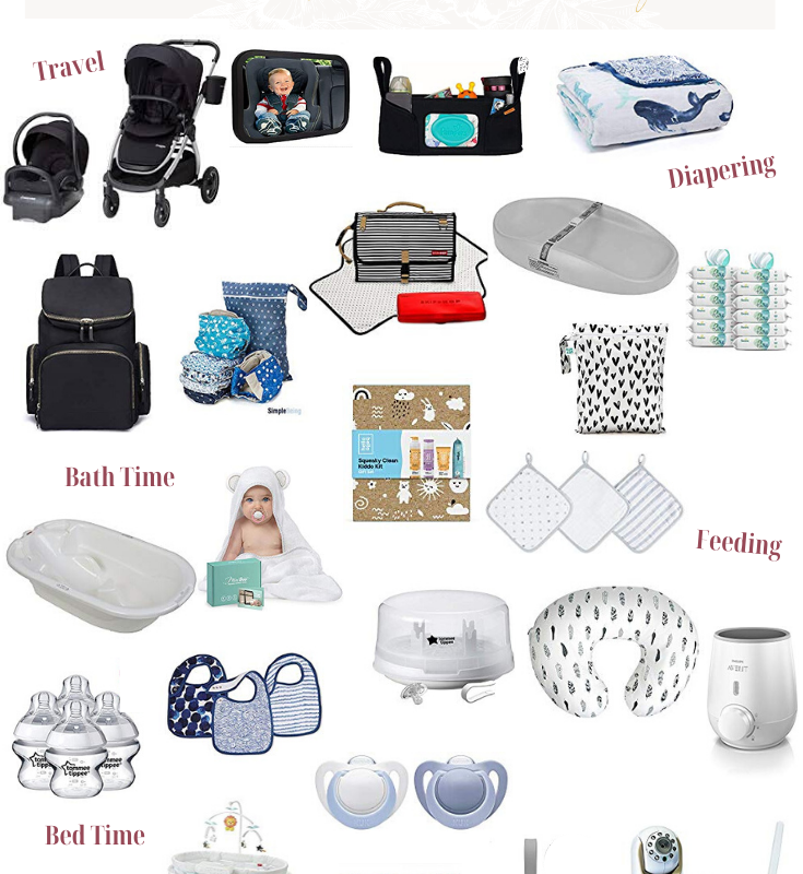 What's on my Baby Registry - My Registry Essentials