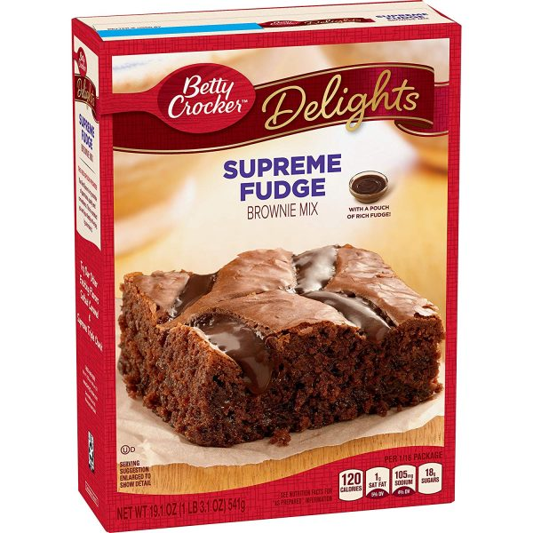Easy Lactation Brownie Recipe using Box Mix. Betty Crocker Brownie Box Mix