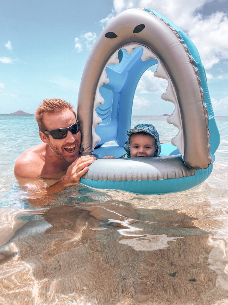 Summer Baby Beach Essentials - Shark Float