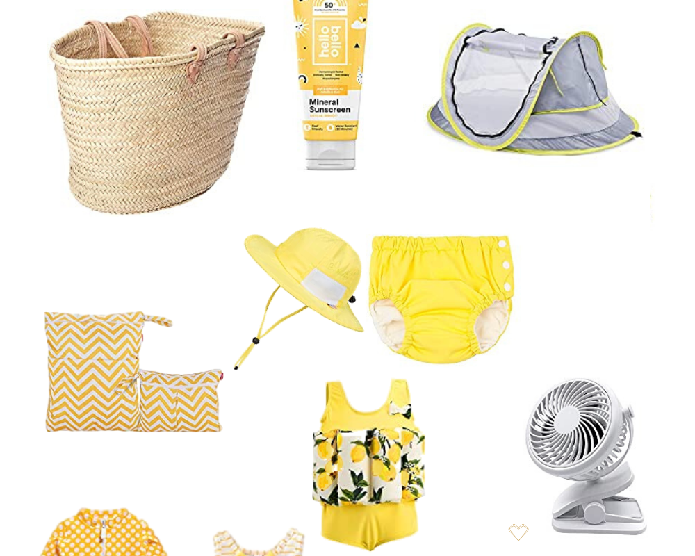 Summer Baby Beach Essentials