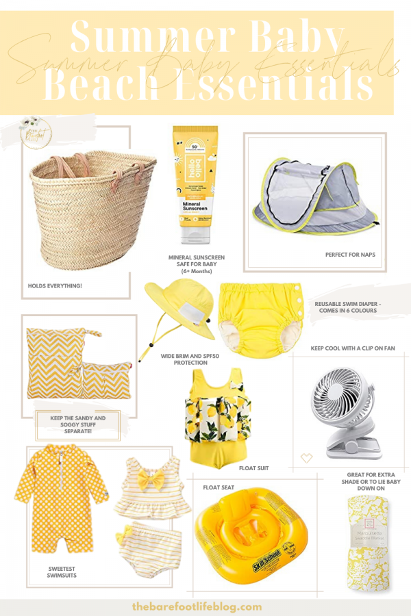 Summer Baby Beach Essentials - Don't Hit the Beach without these Basics